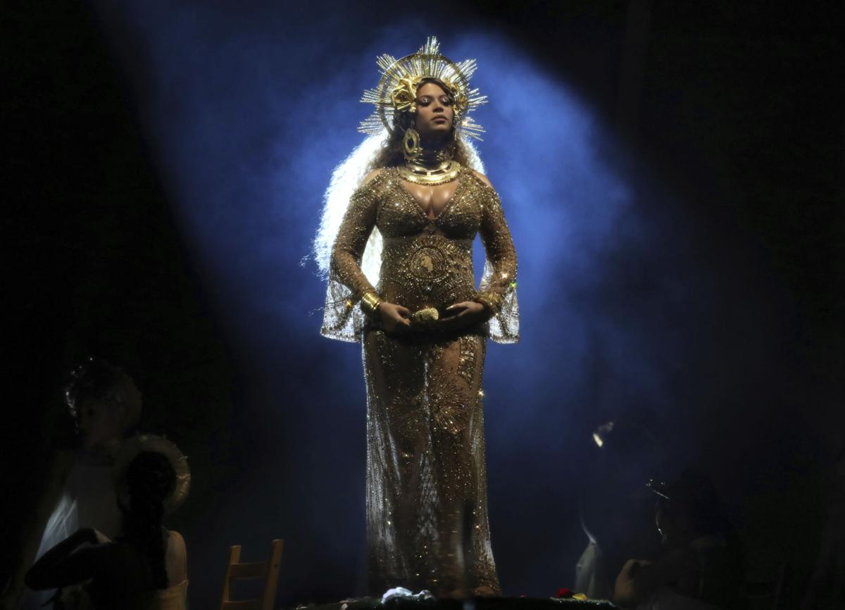 APTOPIX The 59th Annual Grammy Awards - Show