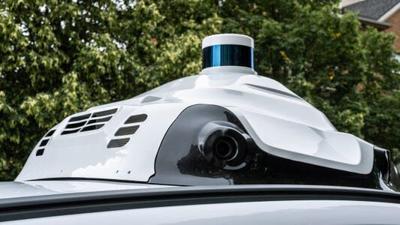 Ford Lyft Argo self-drive