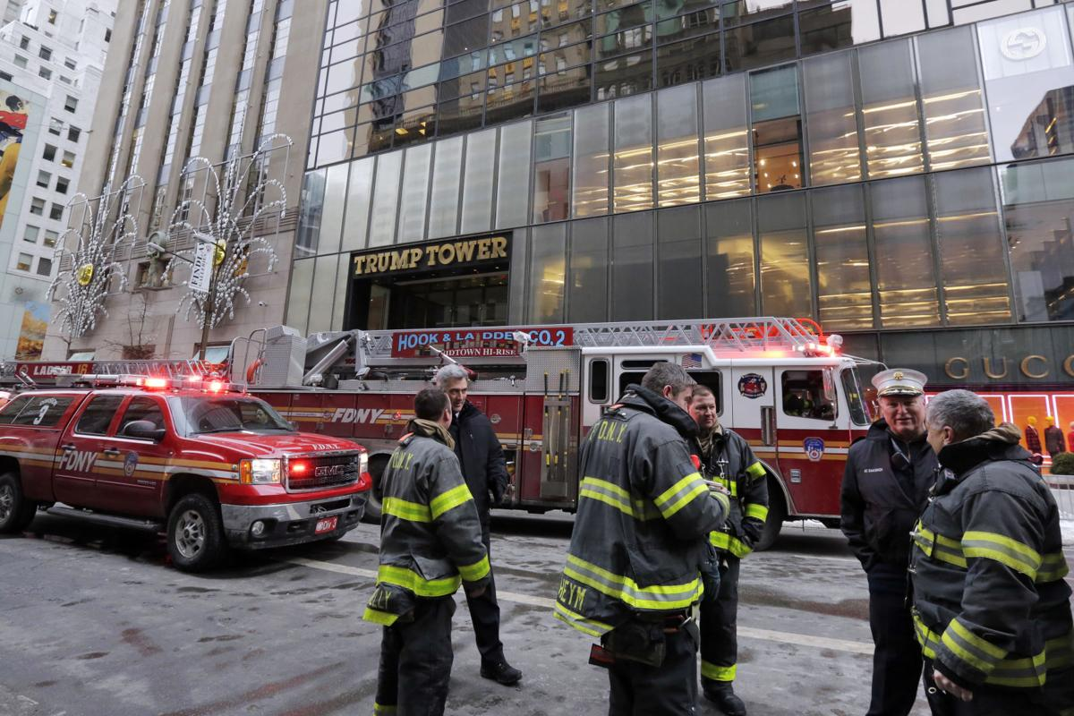 Trump Tower fire