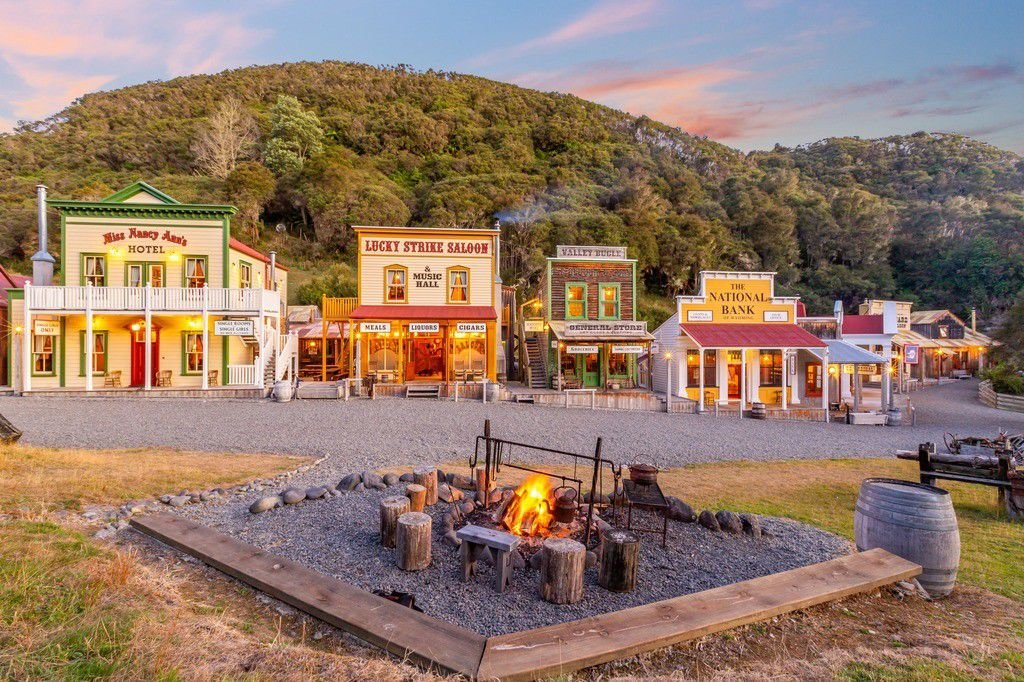 A Wild West town is up for sale for $7.5 million -- in New Zealand