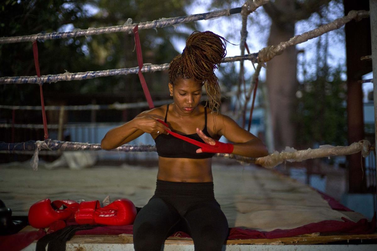 Cuba women's boxing