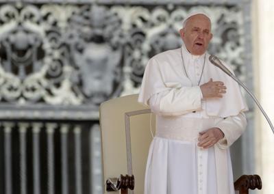 Pope Francis, AP generic file photo