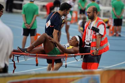 Athlete injury