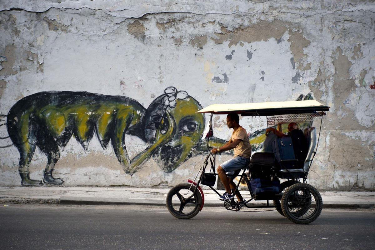 Cuba Graffiti Artist