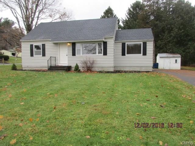 4 Bedroom Home in Camillus - $124,900