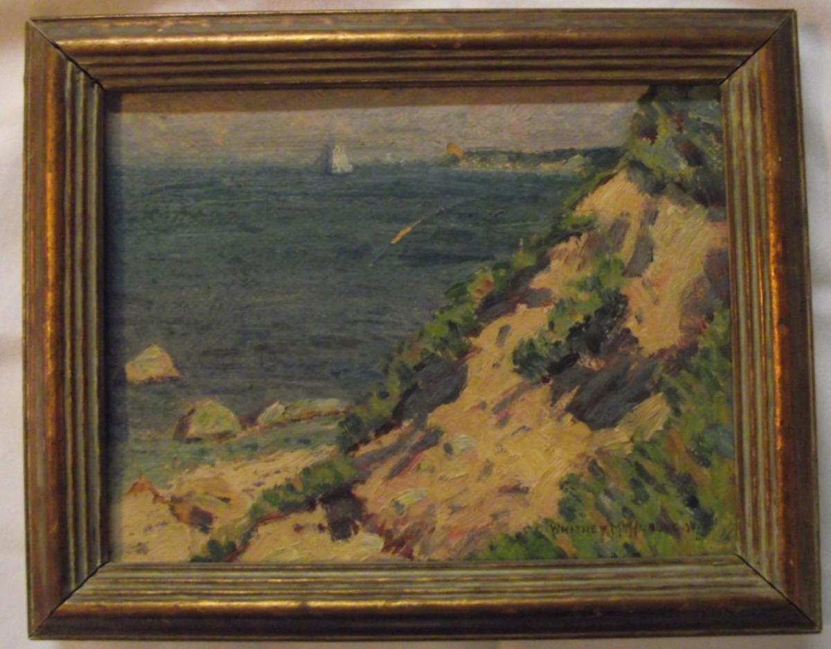 Hubbard oil painting