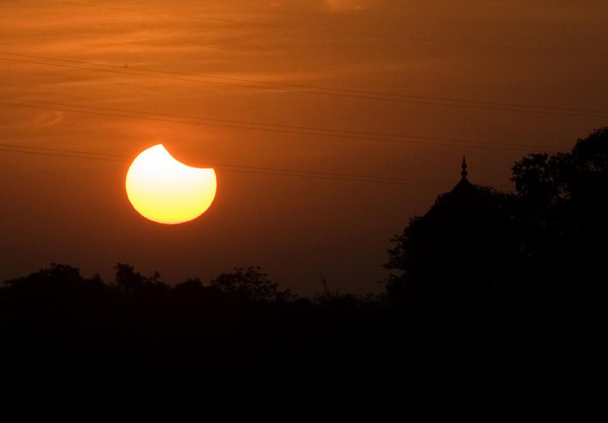 India Solar Eclipse
