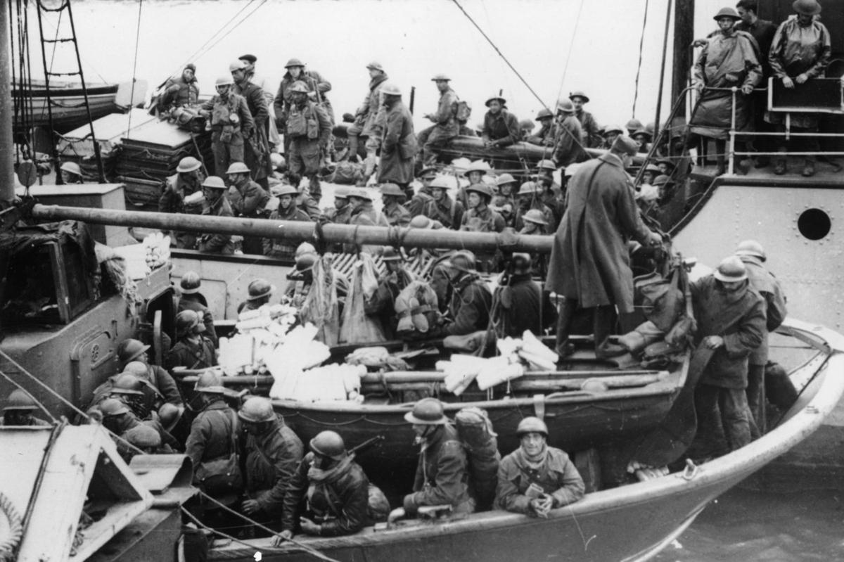 WWII ALLIES RESCUED AT DUNKIRK