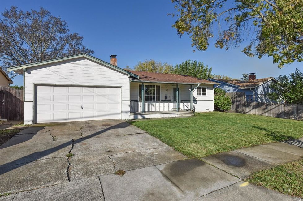 3 Bedroom Home in Napa - $474,900