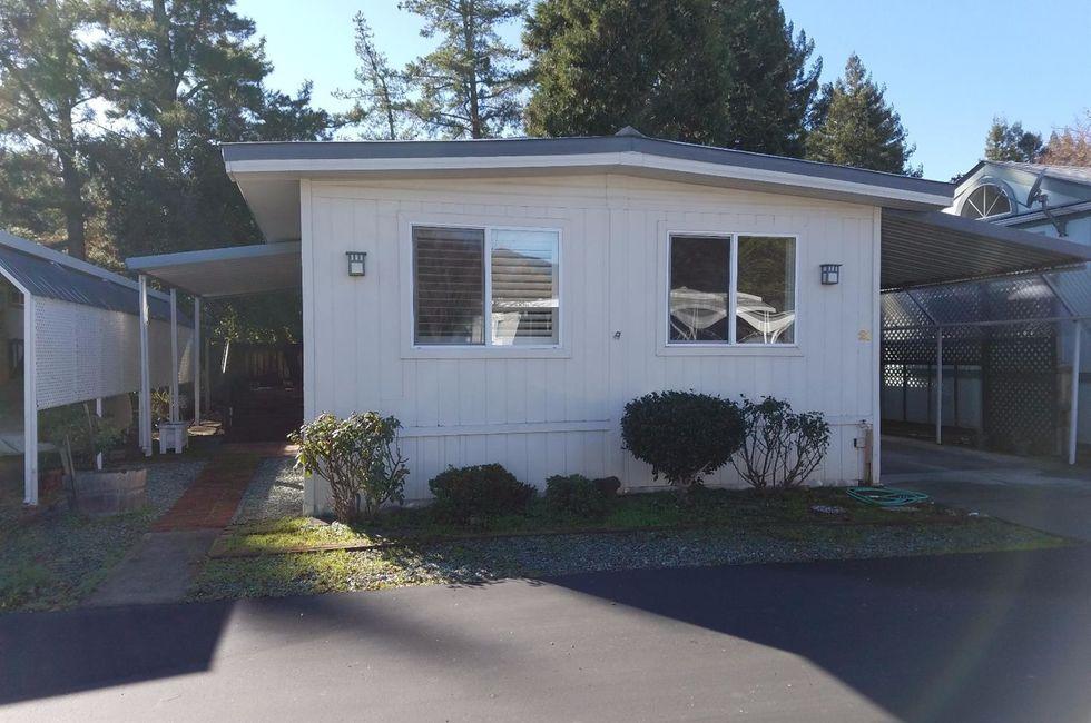2 Bedroom Home in Calistoga - $121,000