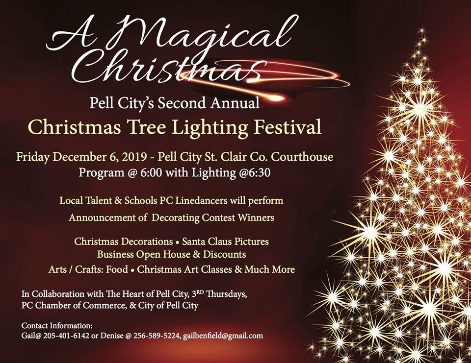Businesses Open On Christmas Day 2020 Pell City's Christmas Tree Lighting Festival Dec. 6 | Community