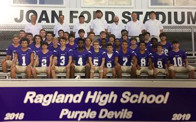 2018 Ragland Football