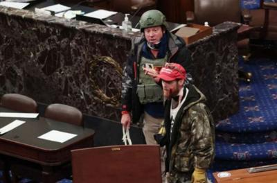 Leeds man arrested for participating in Capitol riot