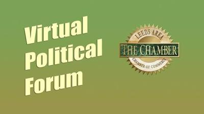 Leeds Chamber of Commerce virtual political forum