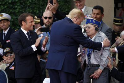 Trump D-Day 75 Years