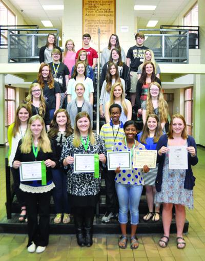 2015 Pell City Science Fair Participants and Winners