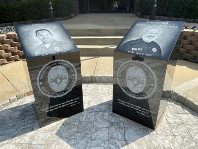 Moody Officers memorial