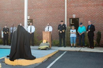 Springville Fire Department memorial