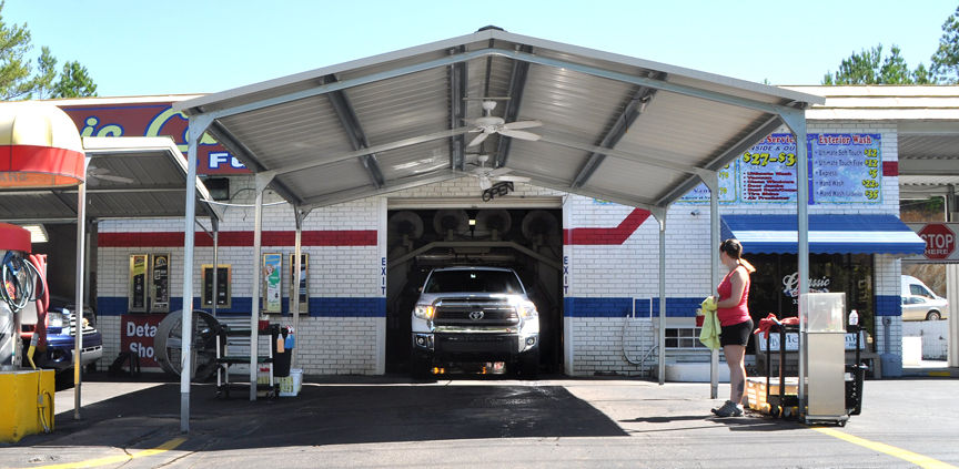 Shine Time at the Classic Car Wash