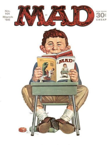 MAD magazine issue 101