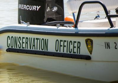 Indiana Conservation Officer boat