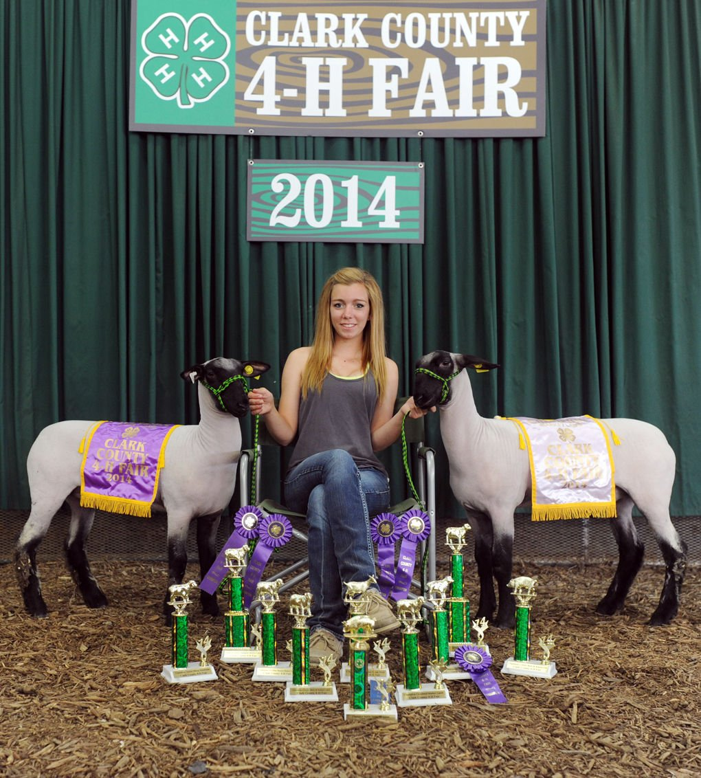 This is what I do': Clark County 4-H'er ages out of program