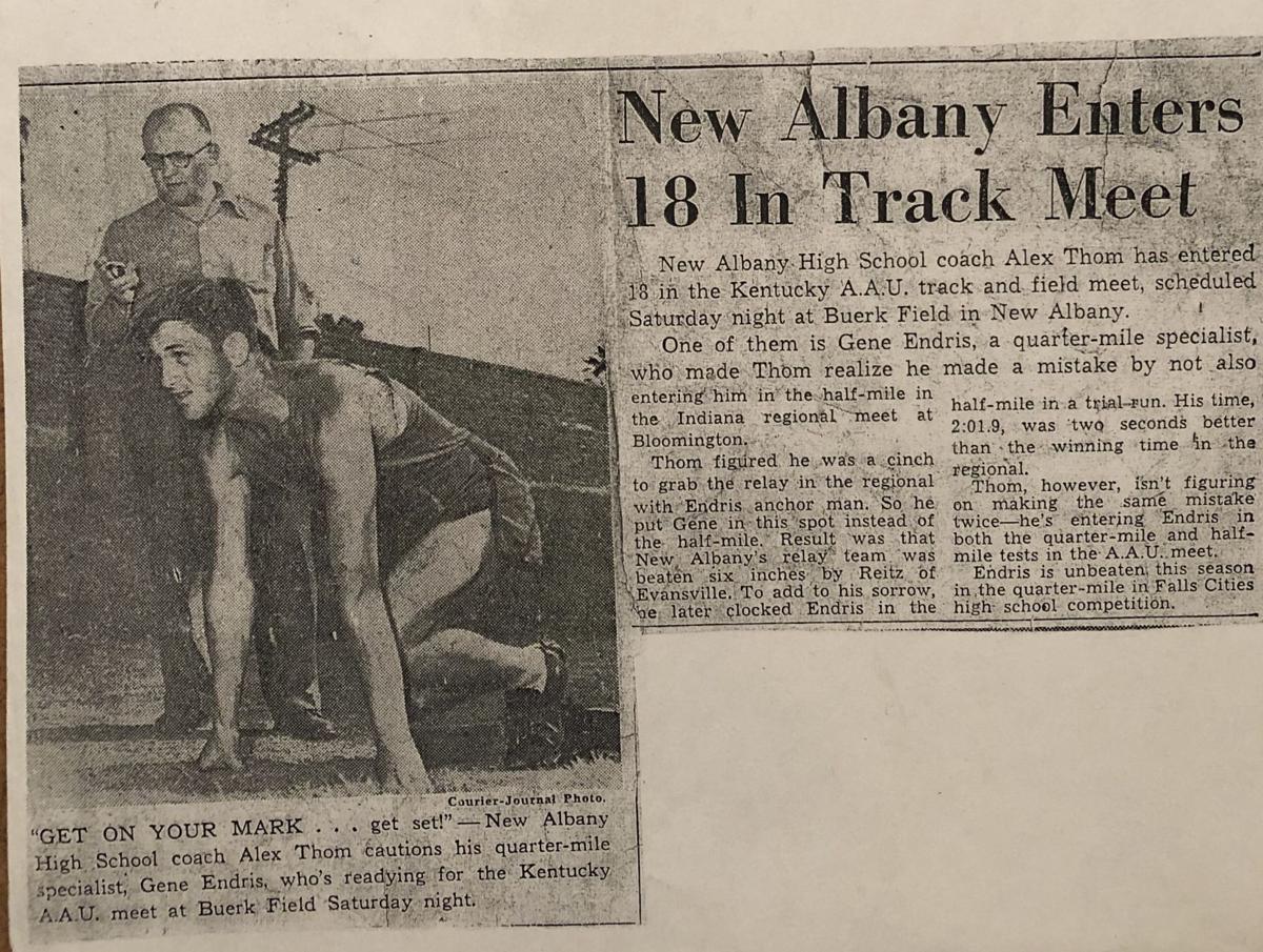 Gene Endris track photo