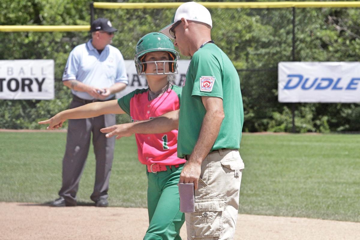 little league softball floyds knobs headed for oregon sports