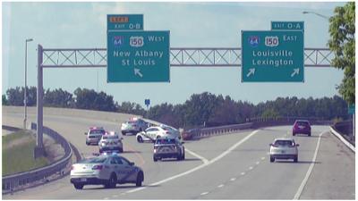 Shooting on Interstate 64