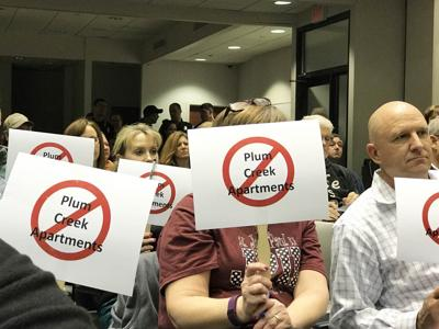 Plum Creek Apartment Protest (copy)