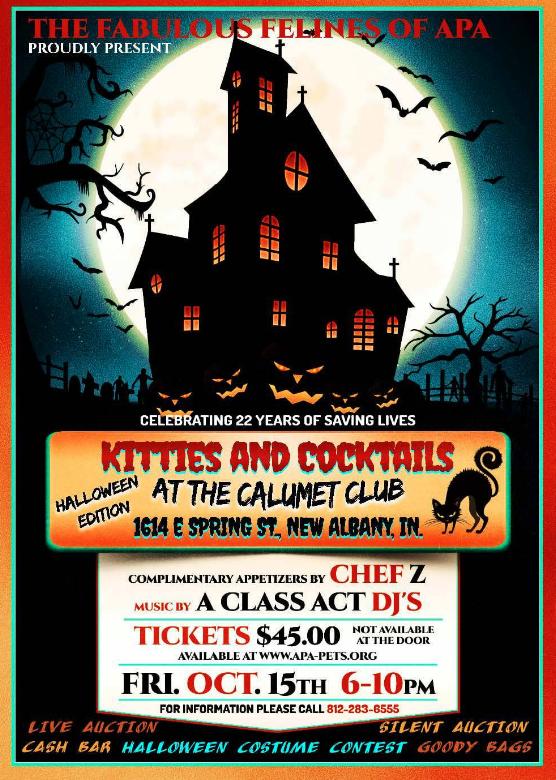 Animal Protecton Association Halloween Edition