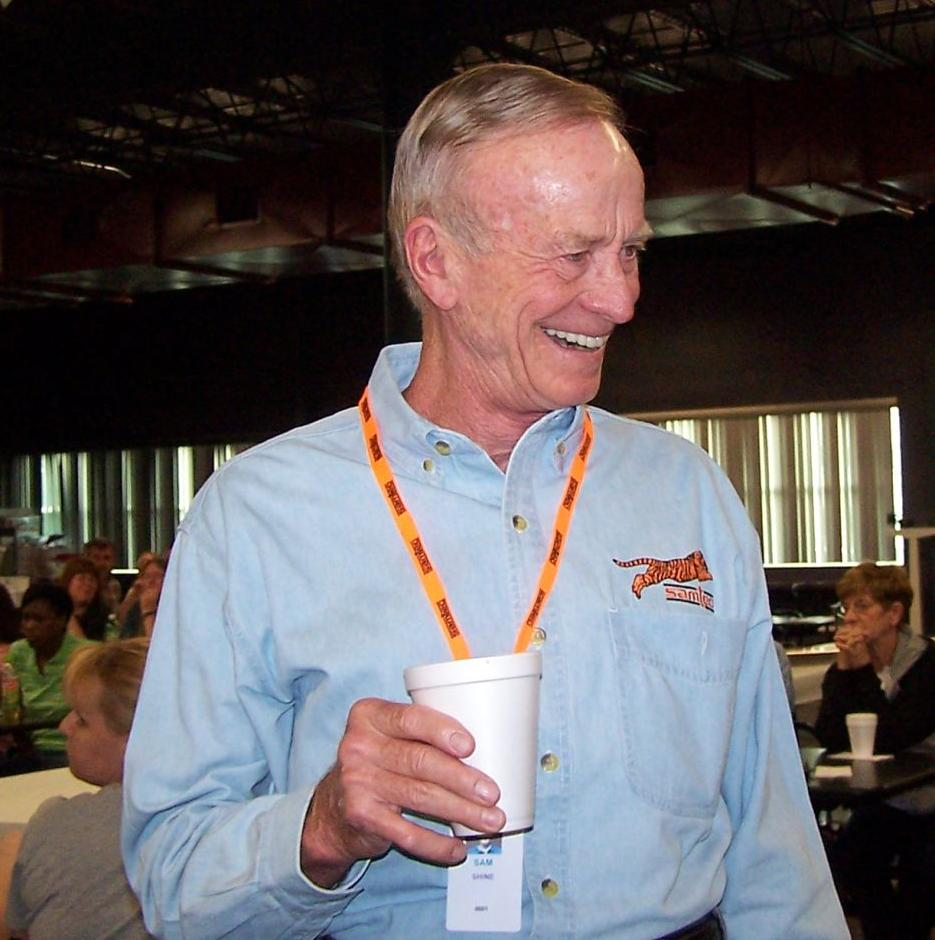 Sam Shine at Samtec meeting