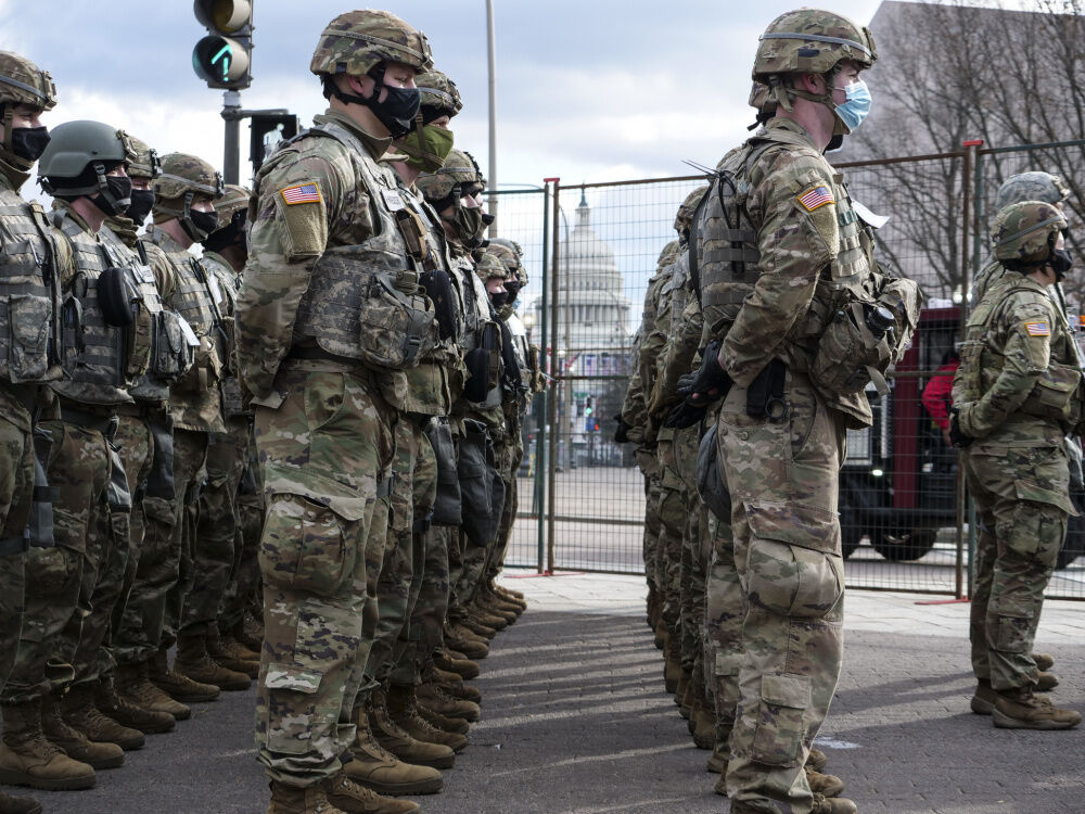 National Guard soldiers in D.C. forced to sleep in garages, sparking outcry