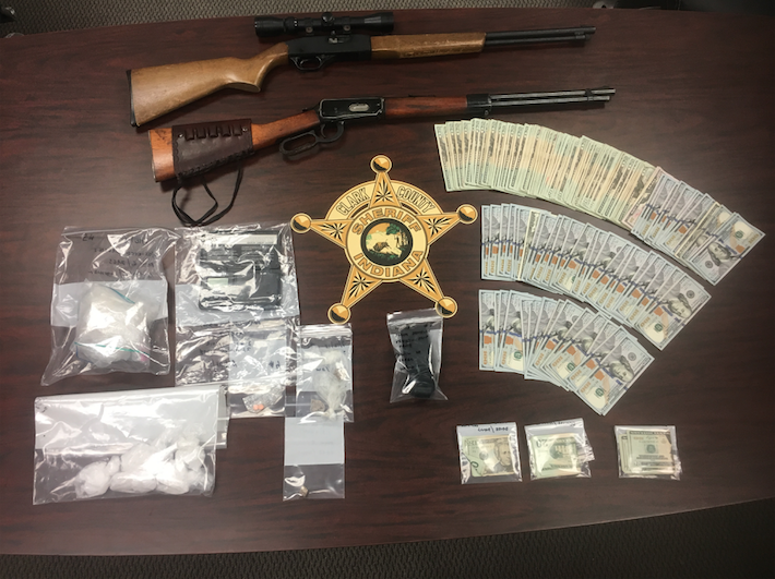 Community tips lead to large drug bust in Clark County
