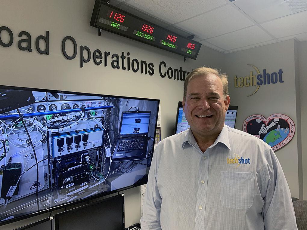 John Vellinger of Techshot