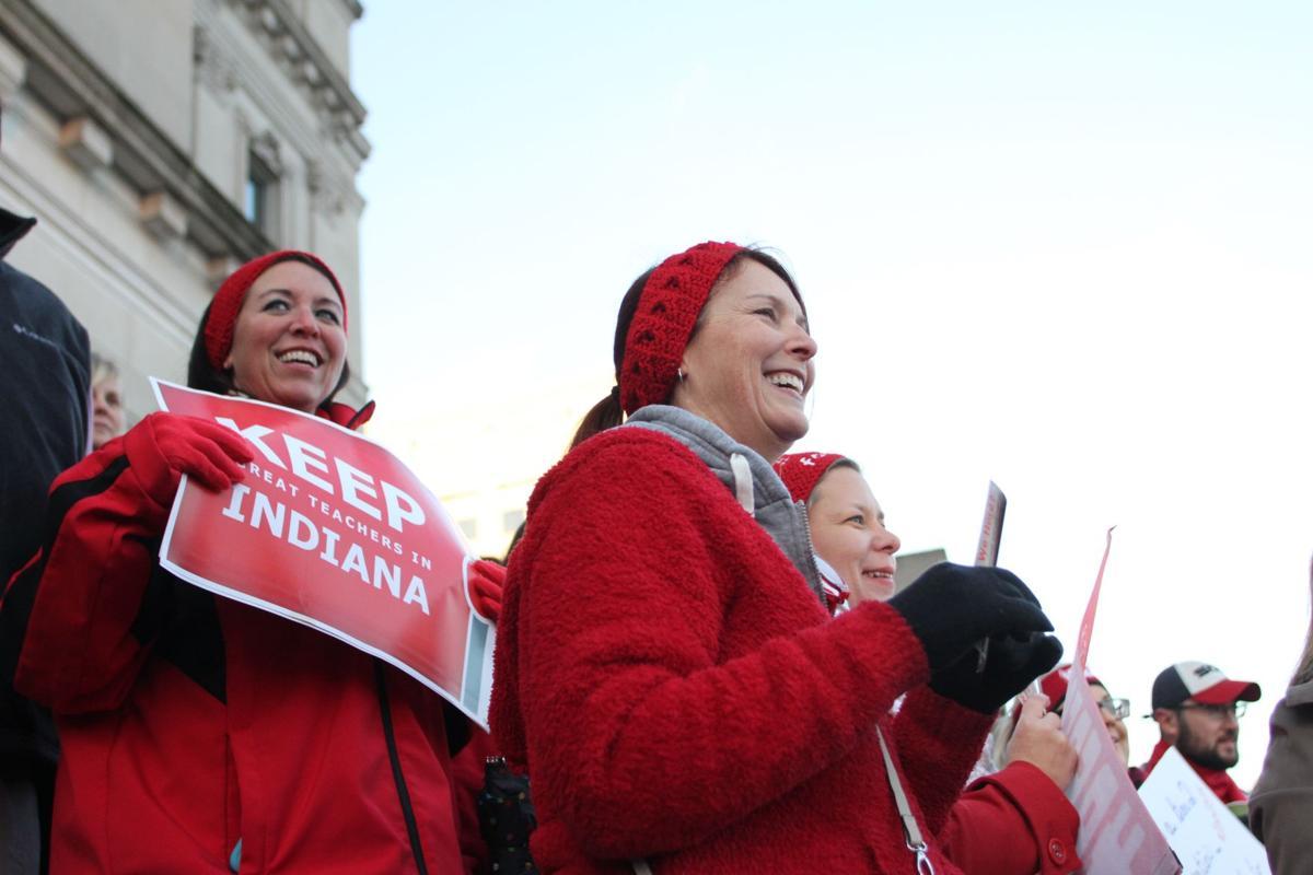 Red for Ed CES teachers