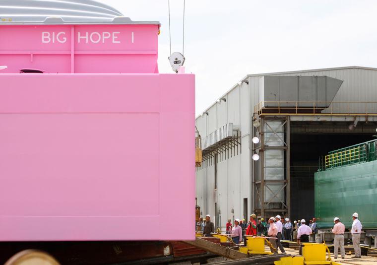 05-04 Pink barge 2 wb.jpg