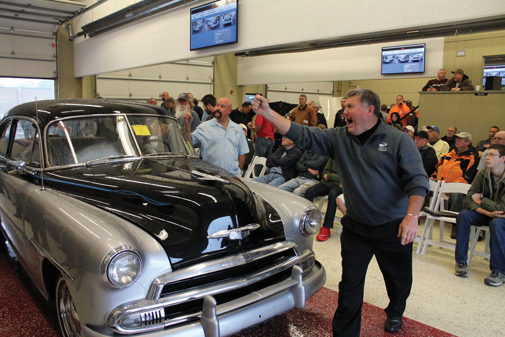 Revving up auto classics at Clark County auction | News ...