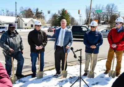 Holmans Lane widening project kicks off in Jeffersonville | Local