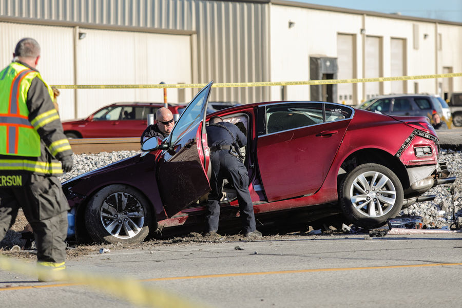 One person killed, second injured in car, train wreck in ...