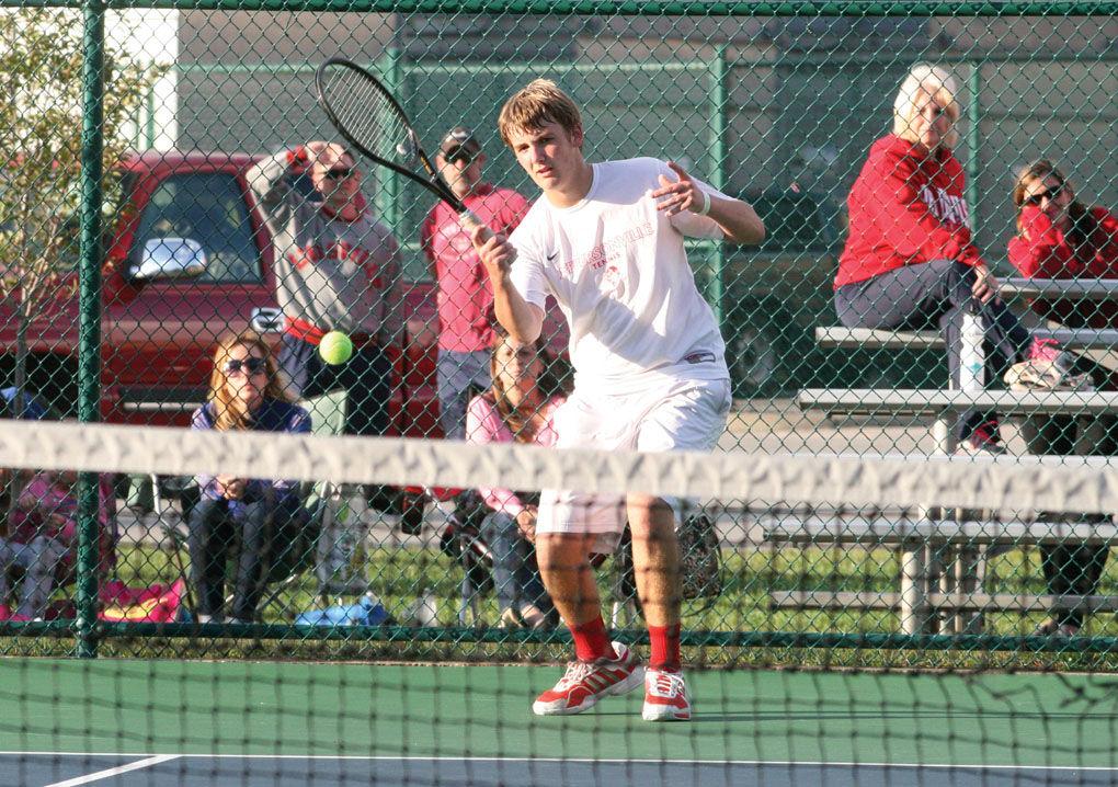 jeffersonville singles Away: 1 bloomington high school north home: w 4 jeffersonville  2 singles  grant paradowski (10) defeated ethan rhea (12) 7-6(4) 3-6 6-0.