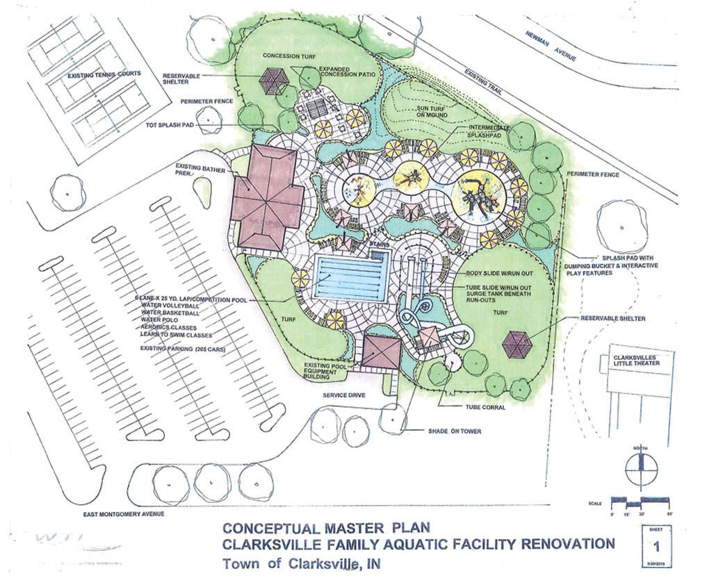 Clarksville Plans To Redevelop Aquatic Center News