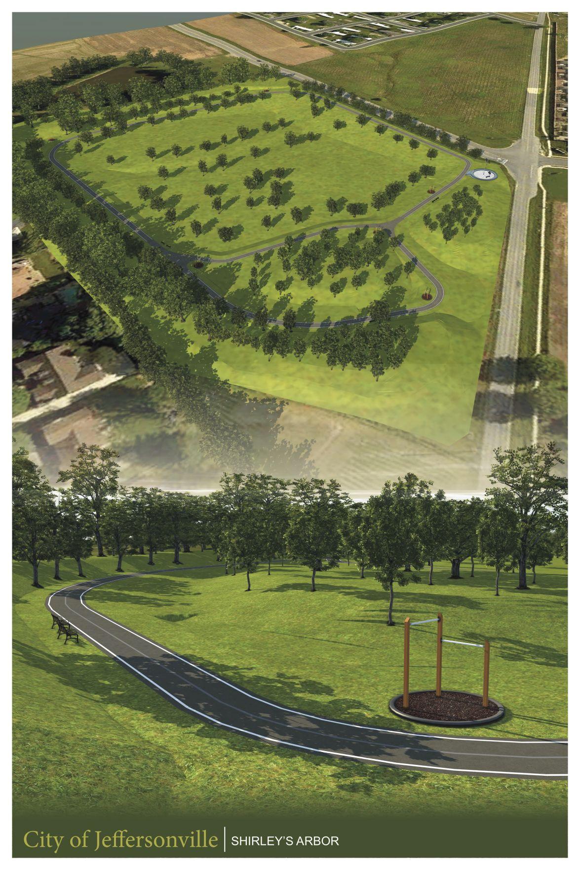 Shirley's Arbor rendering