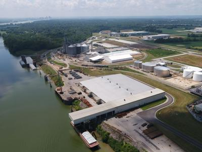 Port of Indiana-Jeffersonville aerial (copy)