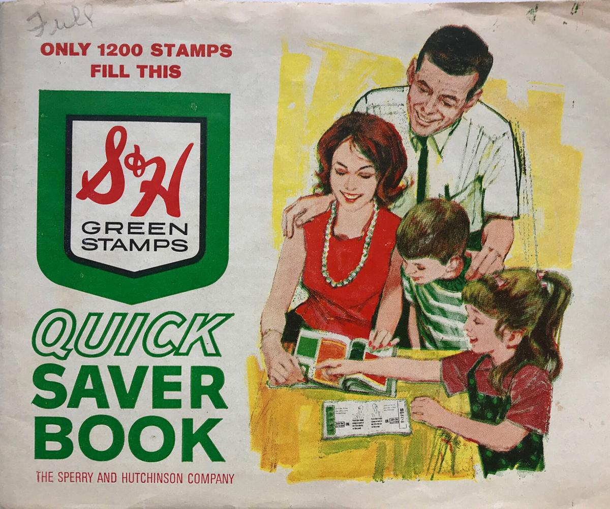 S&H Green Stamps Saver Book