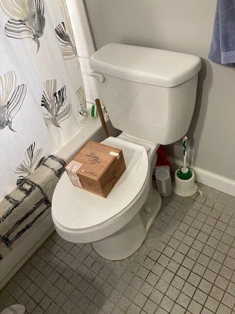 box on the loo