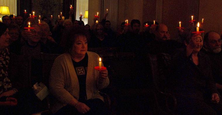 Sharer memorial candles