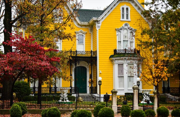 Washington C DePauw Mansion