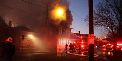 New Albany apartment fire