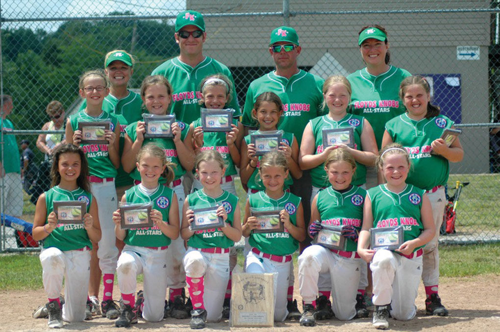 BABE RUTH SOFTBALL: Floyds Knobs 8U team on roll | Floyd